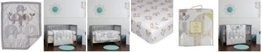 3 Stories Trading Lolli Elephant Parade 3 Piece Nursery Bedding Set