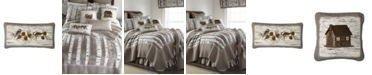 American Heritage Textiles Birch Forest Cotton Quilt Collection, Accessories