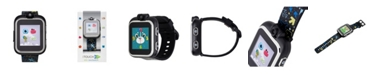 iTouch PlayZoom Kids Smartwatch with Black Planes Printed Strap