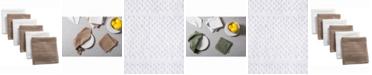 Design Imports Assorted Basic Chef Terry Dishcloth, Set of 6