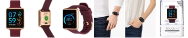 iTouch Women's Air Merlot Silicone Strap Touchscreen Smart Watch 35x41mm - A Special Edition
