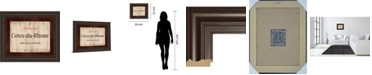 "Classy Art Cote Du Rhone by Paola Viveiros Framed Print Wall Art, 22"" x 26"""