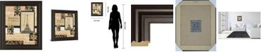 "Classy Art Travel Collage I by Gillian Fullard Framed Print Wall Art, 22"" x 26"""
