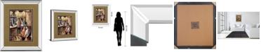 "Classy Art Entre Copas by Didier Lourenco Mirror Framed Print Wall Art, 34"" x 40"""