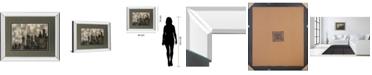"Classy Art City Lights by Katrina Craven Mirror Framed Print Wall Art, 34"" x 40"""