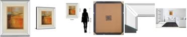 "Classy Art Head Over Heels by Helen Shulman Mirror Framed Print Wall Art, 34"" x 40"""