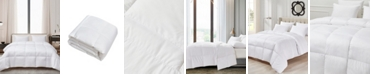 Cannon Ultra-Soft Nano-Touch All Season White Down Fiber Comforter, Full/Queen