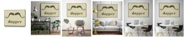 """Giant Art 28"""" x 22"""" Dapper Art Block Framed Canvas"""