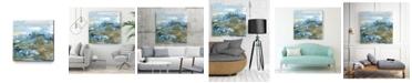"Giant Art 20"" x 20"" Geode II Museum Mounted Canvas Print"
