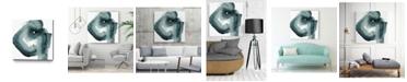 "Giant Art 20"" x 20"" Swirl V Museum Mounted Canvas Print"