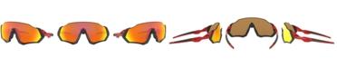 Oakley Men's Flight Jacket Polarized Sunglasses, OO9401