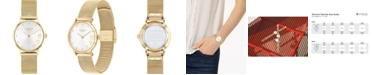 COACH Women's Perry Gold-Tone Stainless Steel Bracelet Watch 28mm