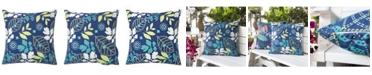 Homey Cozy Annie Tropical Outdoor Pillow