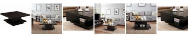 Furniture of America Carenza Square Coffee Table