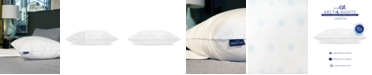 SensorGel Arctic Nights 10x Cooler Supportive Fiber Jumbo Bed Pillow Powered by REACTEX