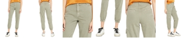 Buffalo David Bitton Cropped Cargo Jogger Pants