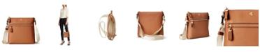 Lauren Ralph Lauren Leather Medium Jetty Crossbody