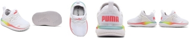 Puma Toddler Girls Pacer Next Cage Rainbow Slip-On Casual Sneakers from Finish Line