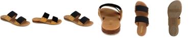 kensie Women's Braelyn Flat Sandal