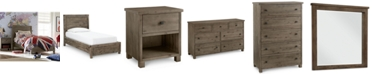 Furniture Canyon Kids Twin Platform Bedroom Furniture Collection, Created for Macy's
