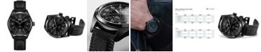 Hamilton Men's Swiss Automatic Khaki Field Black Rubber Strap Watch 42mm H70695735