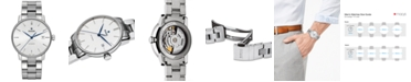 Rado Men's Swiss Automatic Coupole Classic Stainless Steel Bracelet Watch 38mm