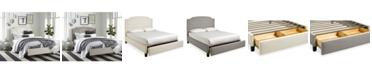Furniture Malinda Upholstered Storage Bedroom Collection
