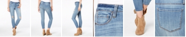 American Rag Juniors' Ripped Skinny Ankle Jeans, Created for Macy's