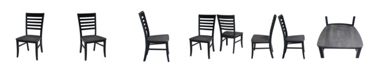 International Concepts Cosmo Chair, Set of 2