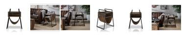 Furniture of America Brockton Mid-Century End Table