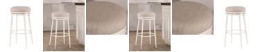 Hillsdale Aubrie Swivel Backless Counter Stool