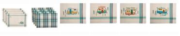 Design Imports Asset Camper Embellished Placemat Set of 4