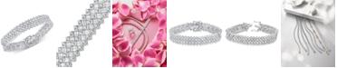 Macy's Diamond Statement Bracelet (8 ct. t.w.) in 14k White Gold