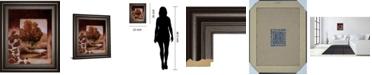 "Classy Art Fall Vignette I by Carol Robinson Framed Print Wall Art, 22"" x 26"""