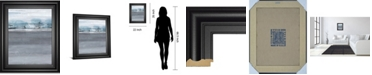 "Classy Art Snowy Tracks by Sims Framed Print Wall Art, 22"" x 26"""