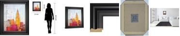 "Classy Art The City That Never Sleeps I by Haub Framed Print Wall Art, 22"" x 26"""