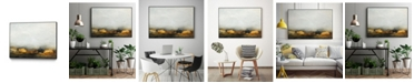 """Giant Art 20"""" x 16"""" Land III Art Block Framed Canvas"""