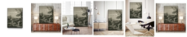 "Giant Art 36"" x 24"" The Spring Head Art Block Framed Canvas"