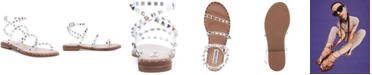 Steve Madden Women's Travel Rock Stud Flat Sandals