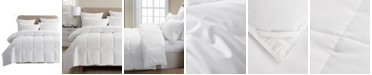 UNIKOME Lightweight White Goose Down & Feather Comforter, Full/Queen Size