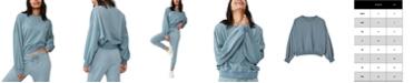 COTTON ON Women's Cleo Balloon Sleeve Crew Sweatshirt