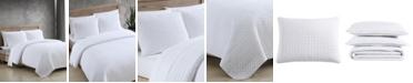 ED Ellen Degeneres Garment Washed Solid 3 Piece Full/Queen Quilt Set
