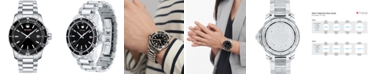 Movado Men's Swiss Series 800 Stainless Steel Bracelet Diver Watch 40mm