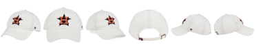 '47 Brand Houston Astros White Clean Up Cap