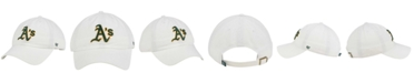 '47 Brand Oakland Athletics White Clean Up Cap