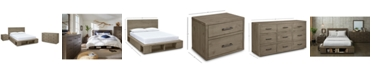 Furniture Brandon Storage Platform Bedroom Furniture, 3-Pc. Set (California King Bed, Dresser & Nightstand), Created for Macy's