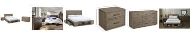 Furniture Brandon Storage Platform Bedroom Furniture, 3-Pc. Set (King Bed, Dresser & Nightstand), Created for Macy's