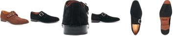 Carlos by Carlos Santana Men's Freedom Single Monk-Strap Suede Loafers