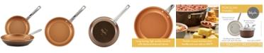 Ayesha Curry 2-Pc. Porcelain Enamel Non-Stick Skillet Set