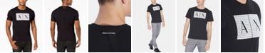 A|X Armani Exchange Men's Foundation Triangulation T-Shirt